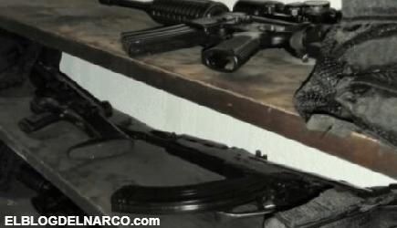 FOTOS El Mencho recibe fuerte golpe, capturan a doce del CJNG con arsenal y marihuana