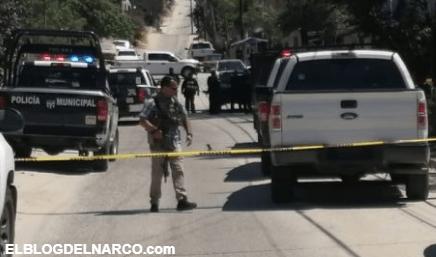 Los policías se vengaron macizo, vaciaron sus pistolas en contra de los sicarios del CAF