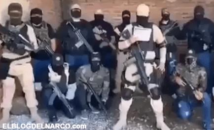 VIDEO Cártel De Santa Rosa de Lima envía mensaje a El Mencho, Al estilo del CJNG pero sin tanto poderío