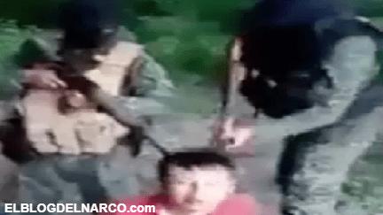 VÍDEO Sicarios interrogan, golpean y ejecutan a dos hombres que confiesan ser extorsionadores