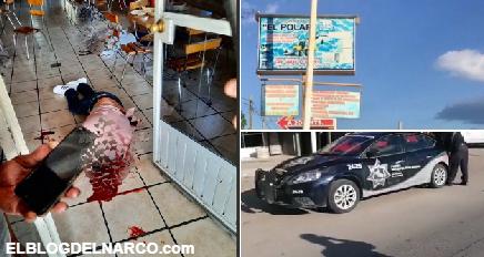 Ejecutan a dos hombres con tiro de gracia mientras comían en restaurante