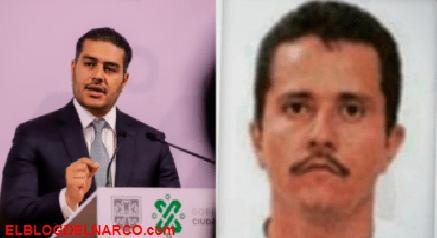 """""""El Mencho"""" líder del CJNG no es una amenaza para la CDMX, según Omar García Harfuch"""
