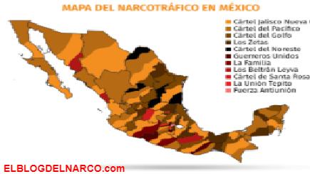 El nuevo mapa del narco en México... CJNG se extiende en 27 entidades del país