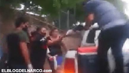 Hijo del Chapo Guzmán envía Tortas a personas afuera de hospitales de Culiacán