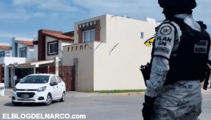 Tras persecución Soldados capturaron a 10 Sicarios armados que se escondieron en Culiacán, Sinaloa