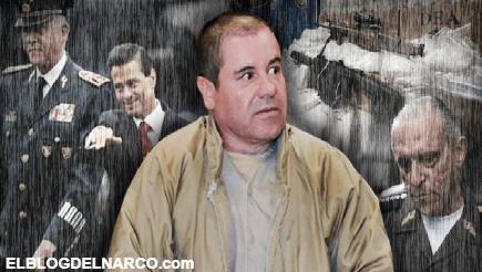 La venganza de El Chapo Guzmán contra Cienfuegos y otros funcionarios de Peña Nieto