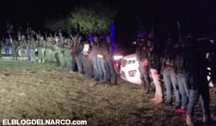 """Video de el ejército de 1.000 hombres de 'El Mencho' dedicado para el """"Mayo"""" Zambada"""