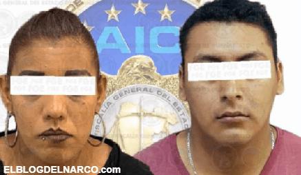 Así operaban ´La Pelirroja´ y Rito, narco-extorsionadores de Salamanca