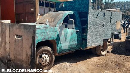 Decomisan 24 vehículos, un arma y un narcocampamento en Salvador Escalante
