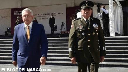 Desconoce AMLO nexos de Cienfuegos con el narco, detención de capo es falsa, dice