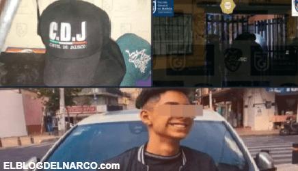 Encuentran cachuchas del Cártel de Jalisco en lugar donde mataron a menor de 14 años