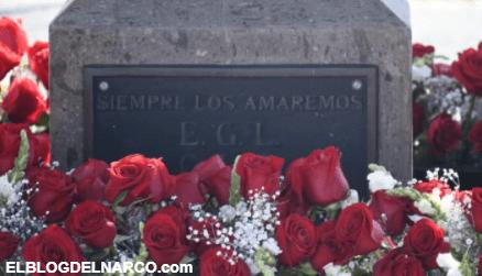 Fotos exclusiva familia Guzmán Loera decoran el cenotafio de Édgar Guzmán, hijo de El Chapo