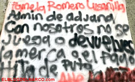 NARCOMANTAS El Cártel de Sinaloa amenazó a administradora de Aduana Ensenada