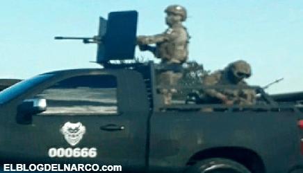 VIDEO Vestidos de militares y con armas calibre .50, así desafían sicarios del CDN a las fuerzas armadas