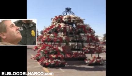 Video de la rosas colocadas en donde fue ejecutado Édgar Guzmán López, hijo del Chapo Guzmán