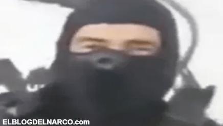 Video donde El Koruco, líder de Cártel de los Viagras reta al Mencho a dar la cara