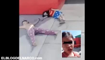 """Video donde niña que reporta """"narcoejecución"""" de sus amiguitos indigna en redes sociales"""