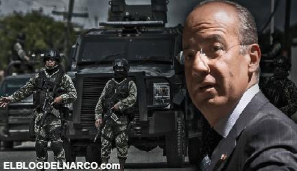 El oscuro legado de Calderón, un discurso bélico y la guerra contra el narco