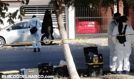 VIDEO Momento exacto en que sicarios matan con 100 balazos a mando policial
