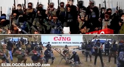 Armados hasta los dientes y en pie de guerra, el CJNG amenaza con un 2021 violento
