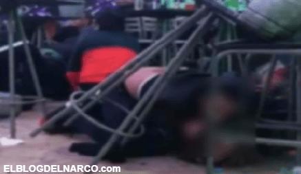 Con su cuerpo protege a mujer durante balacera de los Chapitos en Sinaloa, se viraliza (VIDEO)