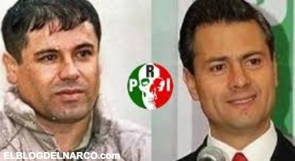 El Chapo financió Campaña Presidencial de @EPN, la Inteligencia de EE.UU lo tiene documentado