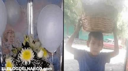 """El era el """"Güerito"""", el pequeño de 6 años que murió por los que piensan que disparar al aire es una excelente manera de recibir el año nuevo"""