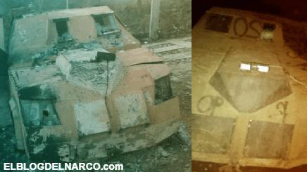 FOTOS: CJNG trató de incursionar en Chinicuila con varios blindados, GN los repelió