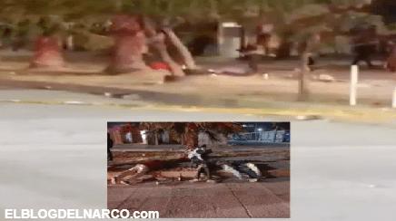 Fotografías de la masacre de nueve en un velorio, Sicarios así dejaron a 9 personas tras matarlos