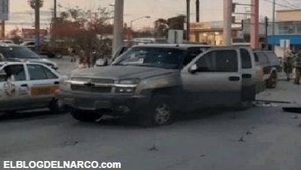 Los Zetas a Hierro Vivian, a hierro murieron, en Video Así iban corriendo del Ejercito en Nuevo Laredo