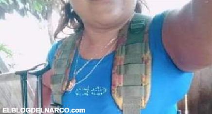 Una de las 40 mujeres 'Autodefensas' en Michoacán que salió en un reportaje diciendo que su panza era de embarazo es Sicaria de Carteles Unidos