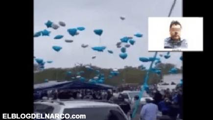 VIDEO Así fue el sepelio del Azulito, hijo del Azul, socio del Chapo Guzmán