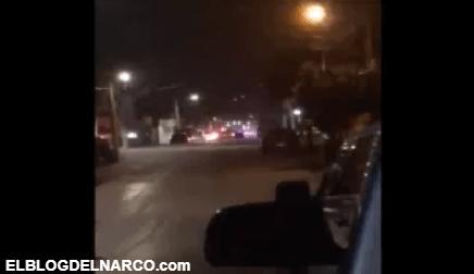 Captan balacera en zona que el Cártel de Sinaloa y CJNG se disputan, aquí el video