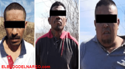 Capturan a tres sicarios del Cartel del Noreste en las afueras de Nuevo Laredo