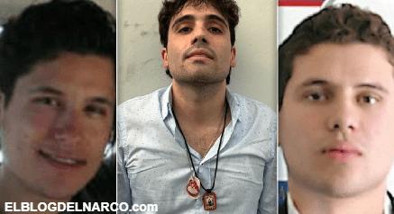 """El video del día en que """"El Mencho"""" levanto a los Chapitos, hijos de """"El Chapo"""" en agosto de 2016"""