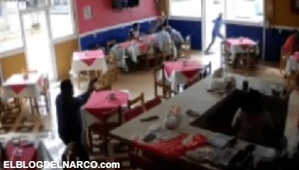 Sicarios irrumpen en restaurante donde estaban fiscal y diputada de Veracruz; escolta las salva