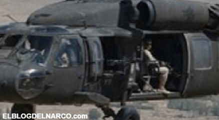 VIDEO Usan helicóptero Black Hawk para enfrentar al Cártel Jalisco Nueva Generación