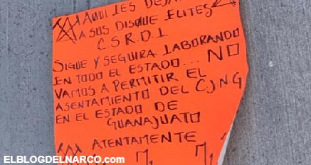 FOTOS: Los Marros descuartizan a integrantes del Grupo Elite del CJNG en Celaya