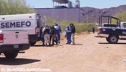 Macabro dejan encajuelado en un vehículo en Guaymas, Sonora