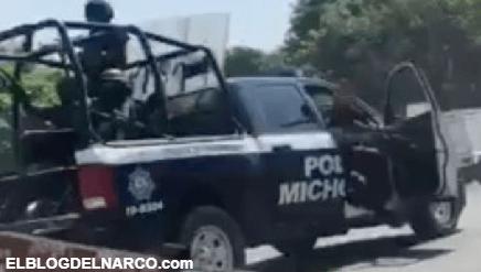 Narcobloqueos y enfrentamientos con helicóptero, violencia por la captura de un Viagras