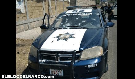 """""""Nos están balaceando"""", las últimas palabras de uno de los 13 policías ejecutados por narcos (Audio)"""