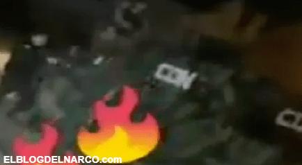 Sicarios del C.D.G ejecutan a rivales del Noreste, troca se les descompuso y así les dispararon (VIDEO)