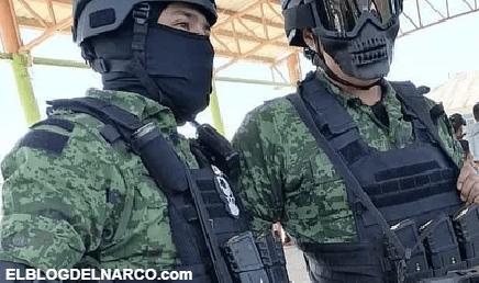 Sicarios del Cartel del Golfo desarman y cachetean a miembros de la Guardia Nacional