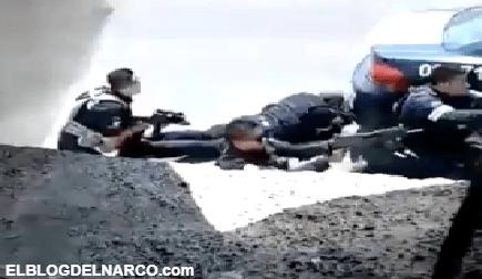Video de la emboscada donde sicarios masacraron a 13 policías en Edomex