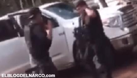 Videos del Brutal enfrentamiento del Cártel de Sinaloa y CJNG en Triángulo Dorado