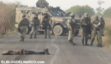 FOTOS Pelotera entre Sicarios deja blindada y varios pistoleros calcinados (otros ejecutados)