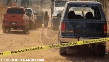Sicarios atacan a Federales y Estatales que cuidaban Vacunas en Tangancícuaro, Michoacán