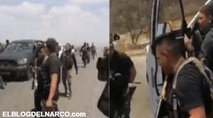 Sicarios del ahijado del Mencho celebran su victoria tras enfrentamiento contra el CDS (VIDEO)