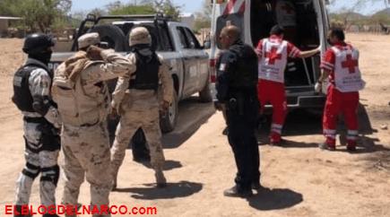 Un Soldado muerto, 7 Sicarios abatidos y 3 heridos deja enfrentamiento en Caborca