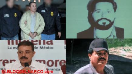 El Chapo, el Mayo y Nacho Coronel, narcos a los que político mexicano vendía químicos